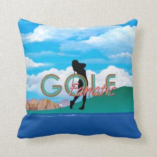 TOP Golf Fanatic Throw Pillow