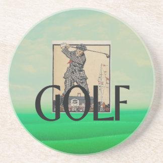 TOP Golf Old School Coaster