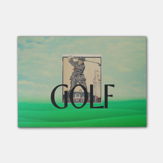 TOP Golf Old School Post-it® Notes
