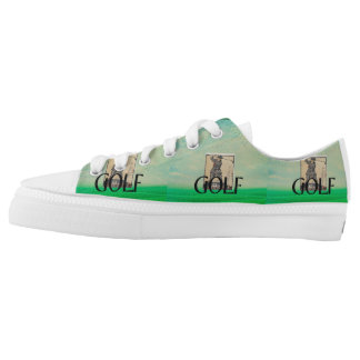 TOP Golf Old School Printed Shoes