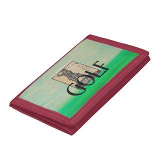 TOP Golf Old School Tri-fold Wallet