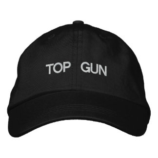 TOP GUN EMBROIDERED BASEBALL CAP