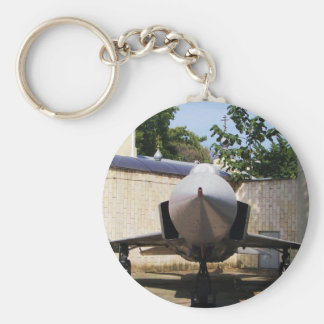 Top Gun in the suburbs. Basic Round Button Key Ring