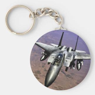 Top Gun Basic Round Button Key Ring