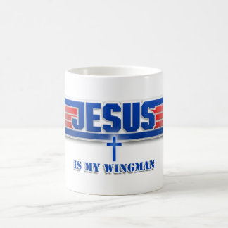 Top Gun Logo Jesus Christ Wingman Movie Mug