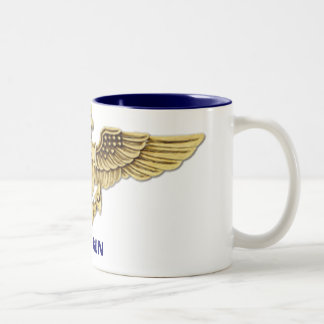 Top Gun Two-Tone Coffee Mug