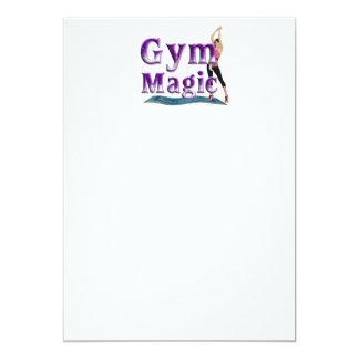 TOP Gym Magic 13 Cm X 18 Cm Invitation Card