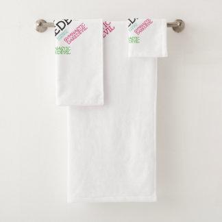 TOP Gymnastics Daredevil Bath Towel Set