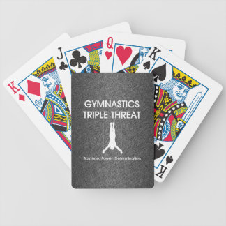 TOP Gymnastics Triple (M) Bicycle Playing Cards
