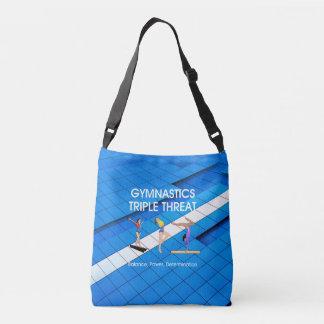 TOP Gymnastics Triple Threat Crossbody Bag