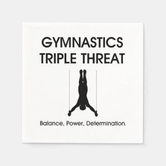 TOP Gymnastics Triple Threat Disposable Serviette