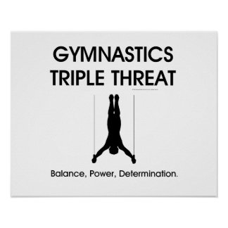 TOP Gymnastics Triple Threat Men s Print
