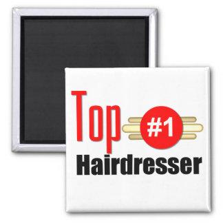 Top Hairdresser Square Magnet