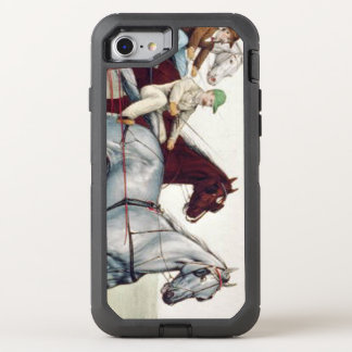 TOP Harness Racing OtterBox Defender iPhone 8/7 Case