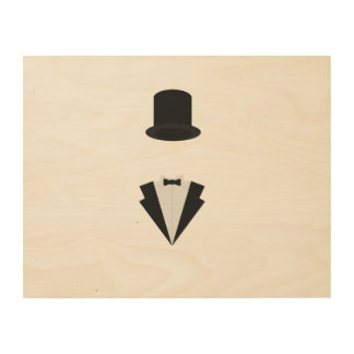 top-hat and smoking wood canvases