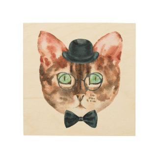 Top Hat Cat Wall Art