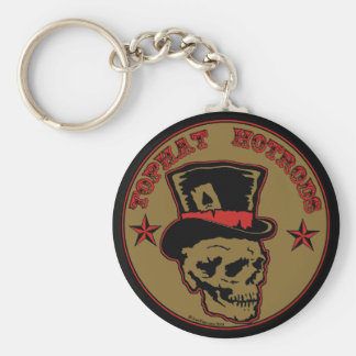 Top Hat Hot Rods Keychain