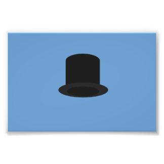 top-hat photographic print