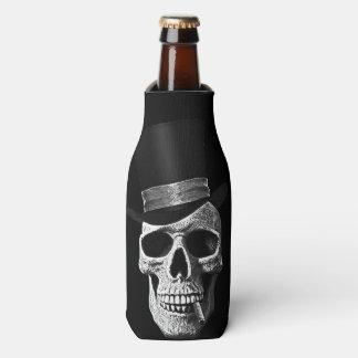 Top hat skull bottle cooler