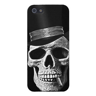 Top hat skull iPhone 5 case