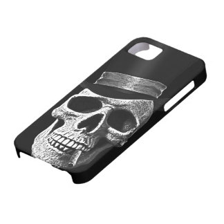 Top hat skull iPhone 5 cover