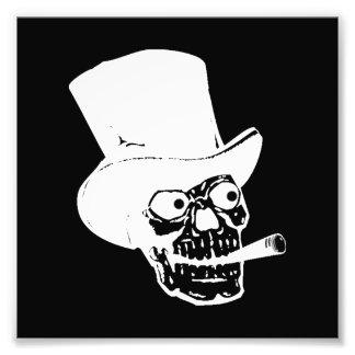 Top Hat Skull Photo
