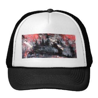 top heavy matchstick mesh hat