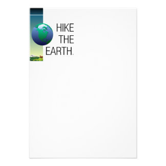TOP Hike the Earth Personalized Invitation
