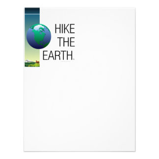 TOP Hike the Earth Personalized Announcements