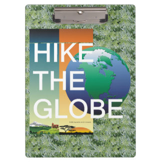 TOP Hike the Globe Clipboard