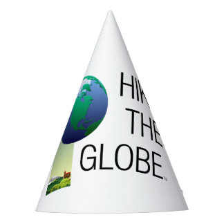 TOP Hike the Globe Party Hat