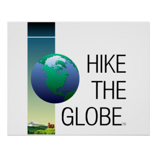 TOP Hike the Globe Poster