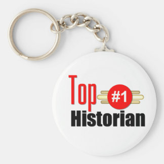 Top Historian Basic Round Button Key Ring