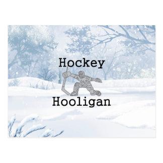 TOP Hockey Hooligan Postcard