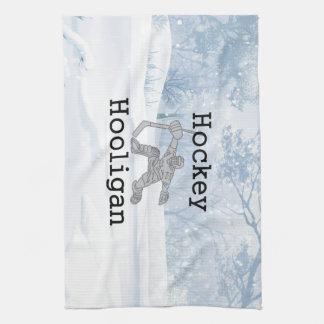 TOP Hockey Hooligan Tea Towel