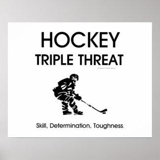 TOP Hockey Triple Threat Posters