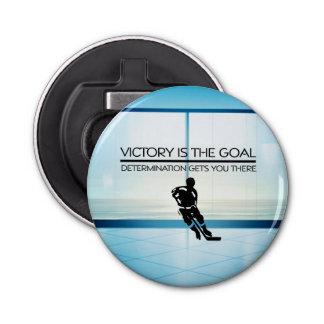 TOP Hockey Victory Slogan Bottle Opener