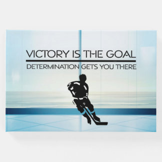 TOP Hockey Victory Slogan Guest Book