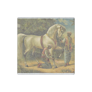 TOP Horse Royalty Stone Magnet