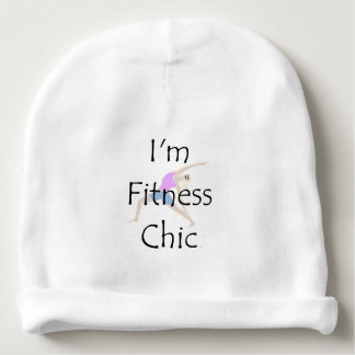 TOP I'm Fitness Chic Baby Beanie