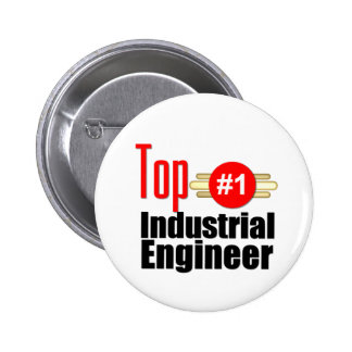 Top Industrial Engineer 6 Cm Round Badge
