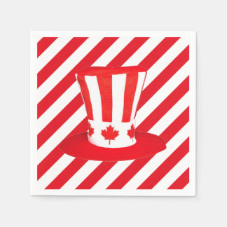 Top It Off Canada Day Party Paper Napkins
