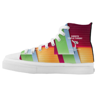 TOP Karate Triple Threat High Tops