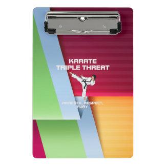 TOP Karate Triple Threat Mini Clipboard