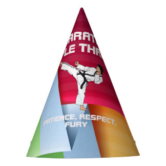 TOP Karate Triple Threat Party Hat
