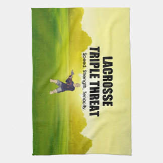 TOP Lacrosse Triple Threat Tea Towel