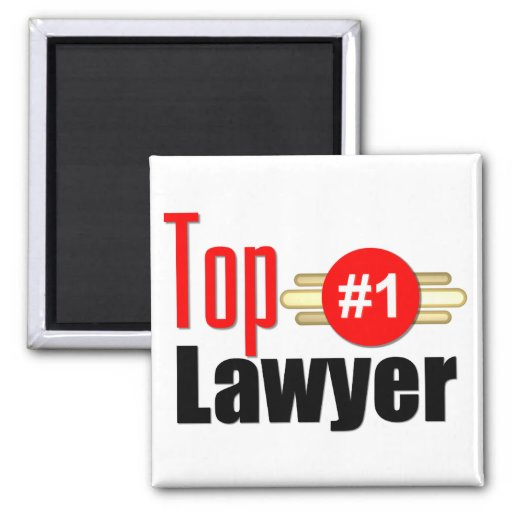 TOP Lawyer Refrigerator Magnet