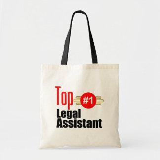 Top Legal Assistant Budget Tote Bag