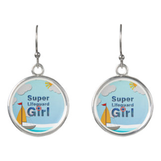 TOP Lifeguard Girl Earrings