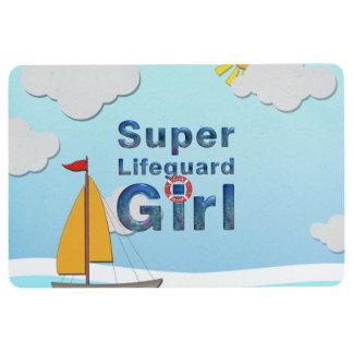 TOP Lifeguard Girl Floor Mat